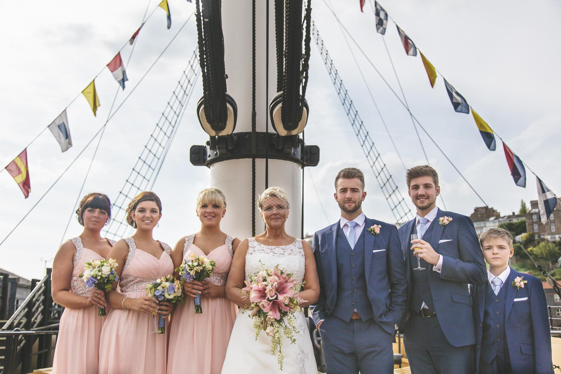 Wild pheasant wedding